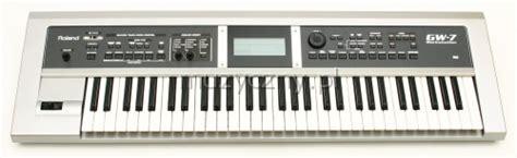 Keyboard Roland Gw 7 roland gw 7 keyboard workstation