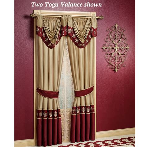 Jcpenney Home Decorating by Roman Empire Toga Swag Valance