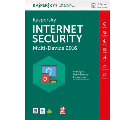 Security Kaspersky kaspersky security 2016 multi device 1 device 1 year deals pc world