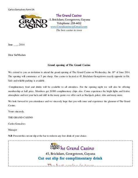 circular letter format the grand casino circular letter