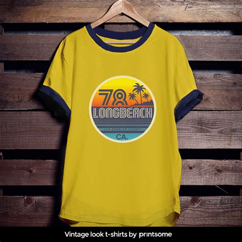Print Vintage T Shirt how to design vintage looking t shirts printsome style