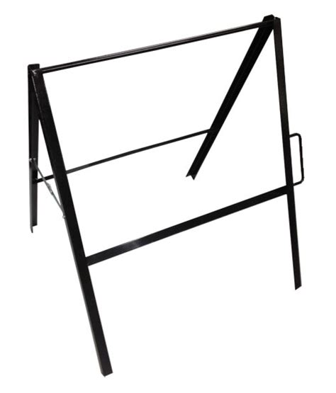 a frame folding and sidewalk signs a frame folding metal sign stand 24x18 x 30 high