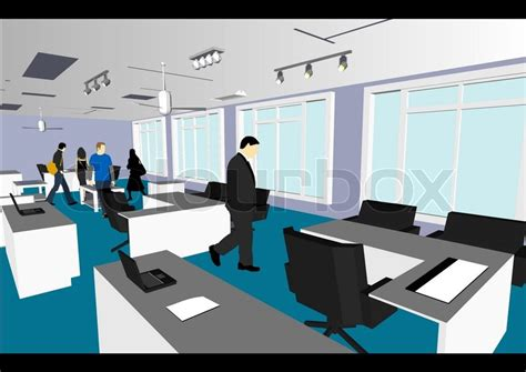 eps format office architect s home office in vector format every feature