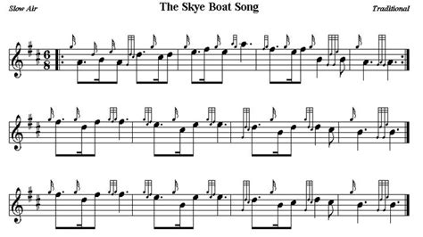 skye boat song bagpipe sheet music the skye boat song bagpipe pinterest boats keys and