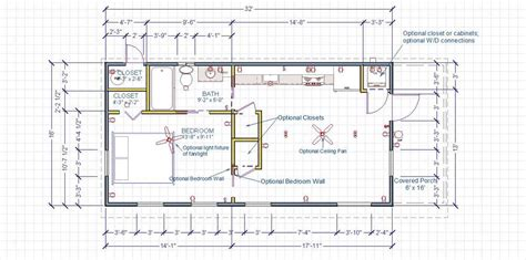 16x32 Cabin Plans Joy Studio Design Gallery Best Design 16 X 32 House Plans