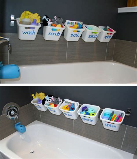 toy storage ideas for small spaces 25 best ideas about bath toy storage on pinterest