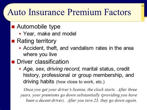 Compare Car Insurance Premium by Chapter 8 Property And Motor Vehicle Insurance Ppt