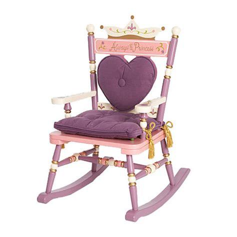 princess rocking chair shop personalized rocking chair princess rocking