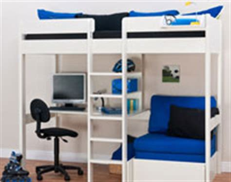 Boys High Sleeper Bed by Stompa Bed For Boys
