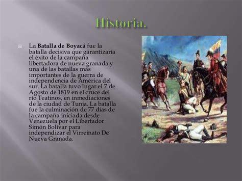 Resumen 7 De Agosto by Batalla De Boyaca 7 De Agosto