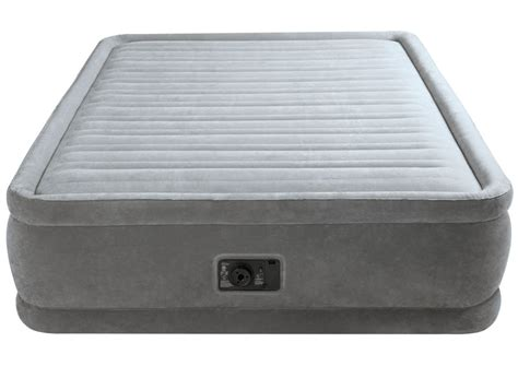 matelas conflable matelas gonflable 233 lectrique 2 places intex comfort 64414