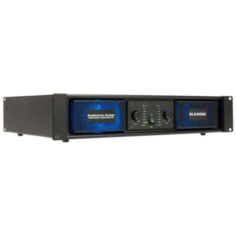 Power Lifier American american audio elx4000 power lifier