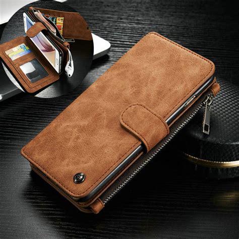 Best Seller Casing New Flip Wallet Leather Samsung Galaxy S6 Edg for samsung galaxy s7 edge leather removable wallet flip