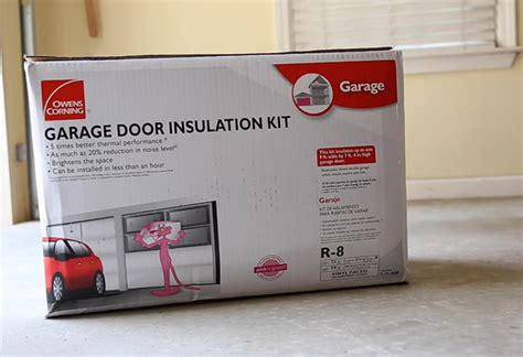 Insulate Door Garage Door Insulation Kit 8 Pieces Home Depot Garage Door Insulation