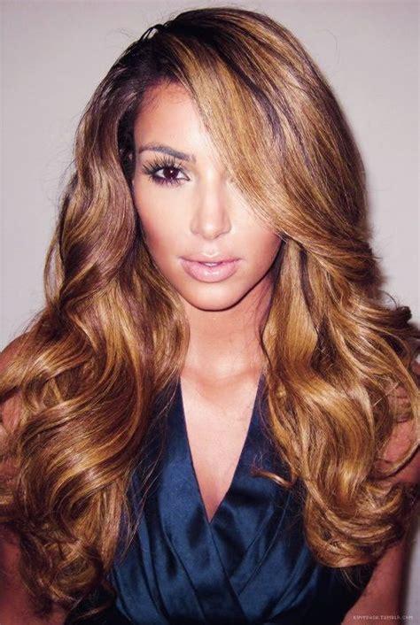 caramel color hair caramel hair colour nails makeup