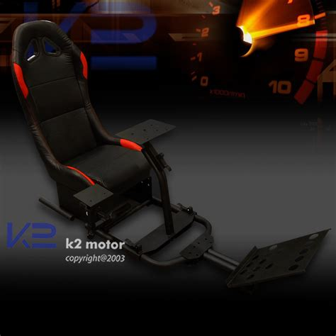 Playstation 4 Gaming Chair by Racing Simulator Cockpit Driving Race Chair Gaming Seat