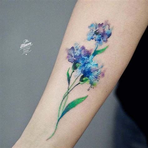 watercolor tattoo upkeep best 25 watercolor flower tattoos ideas on