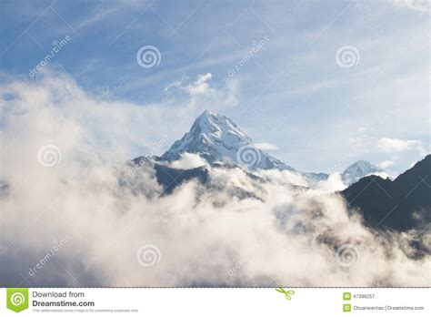 Time Served My Days And Nights On Row Records Snow Mountain Stock Photo Image 47396257
