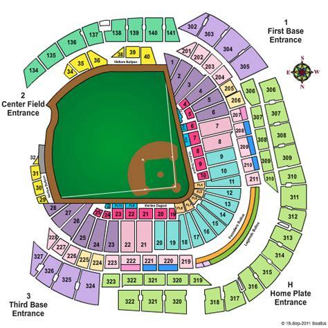 seating chart miami marlins mlb all tickets theticketbucket