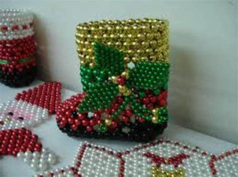 perlas de estambre manualidades pinterest productos