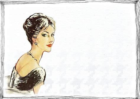 lade vintage free illustration vintage fashion drawing free