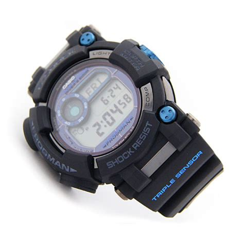Casio G Shock Frogman Gwf D1000b 1jf With Water Depth Sensor Jdm Origi casio g shock gwf d1000b 1jf frogman depth sensor iso200m japan gwf d1000b 1 ebay