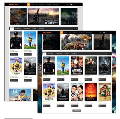 template joomla movie responsive joomla movie template sj asolar