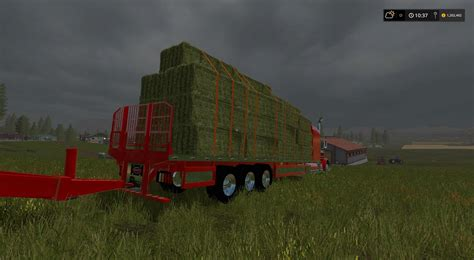 Handmade Ls - peterbilt 388 flatbed custom v1 for ls 17 farming