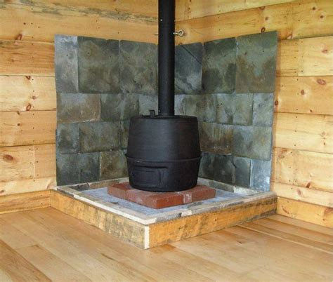 Wood Stove In Cabin by Small Cabin Wood Stove Setup Small Cabin Forum 7