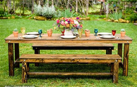 bench rentals farm table bench rentals san diego
