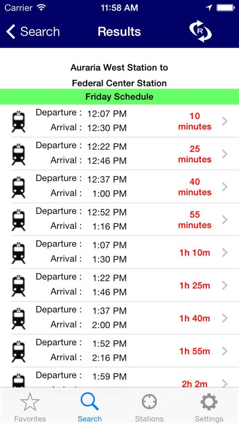 light rail times denver itransitbuddy rtd light rail apprecs
