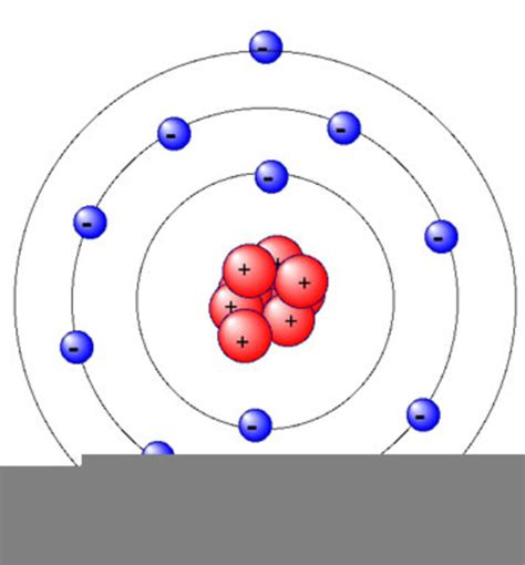 Atom Model Vector Clipart magnesium atom model free images at clker vector