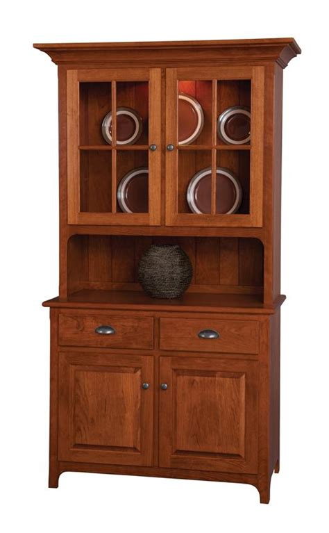 amish plymouth corner hutch amish plymouth two door hutch