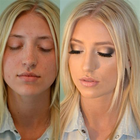 Makeup Base Makeover the power of hair and makeup before and after glamourosity