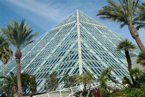 Moody Gardens Pyramids by Moody Gardens Galveston