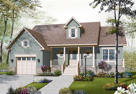 country home plan 2 bedrms 1 baths 1344 sq ft 126 1092