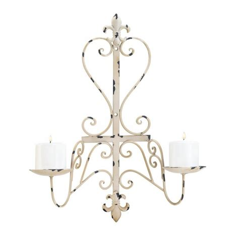 wholesale fleur de lis home decor wholesale antiqued fleur de lis candle sconce wall