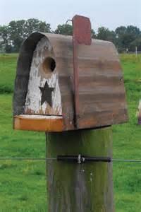 country barnwood birdhouses