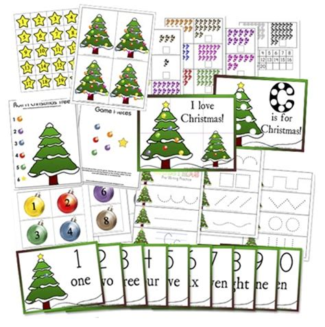 printable christmas party games pack download educational freebie free and nativity preschool packs