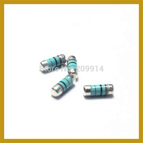 resistor smd melf cylindrical smd melf smd resistor resistance within the 0207 100r jpg