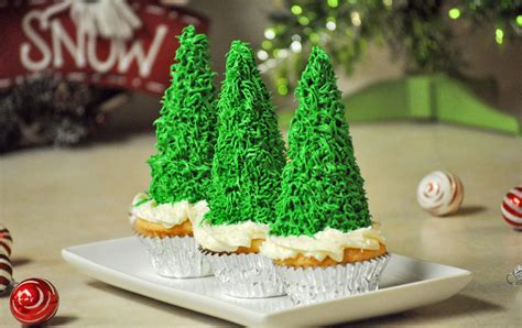 add sugar to christmas tree water sugar cone tree cupcakes s fabulous finds