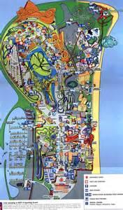 cedar point 2000 theme park maps