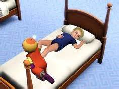 sims 3 toddler bed daybed for your toddlers sims3 sims 3 cc custom content downloads pinterest