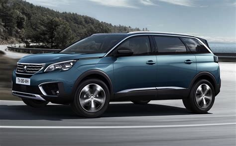 peugeot suv peugeot debuts all new 5008 as a 7 seater suv carscoops