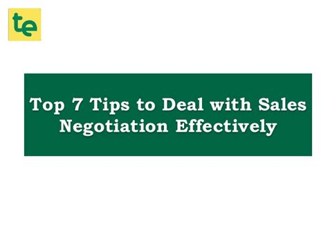 7 Tips On How To Handle A Moody Person by Top 7 Tips To Deal With Sales Negotiation Effectively