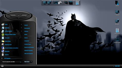 computer themes batman batman skin pack free download for windows 7 8 softlay