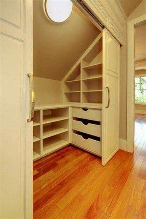 closet ideas for attic bedrooms best 25 attic closet ideas on pinterest slanted ceiling