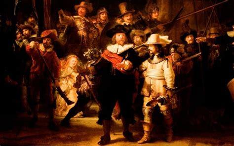amsterdam museum flash mob video cultured flashmob recreates rembrandt s the night