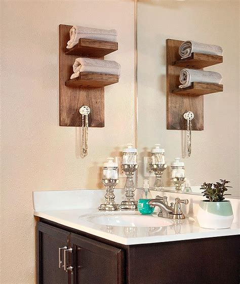 bathroom craft ideas 15 easy diy hanger projects diy craft projects