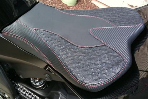 Motorcycle Seats Upholstery by Custom Rod Interiors Upholstery Motorcycle Seats